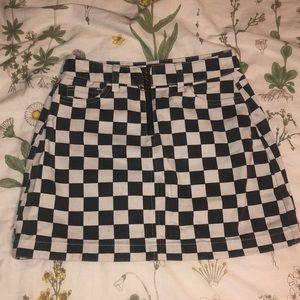 BDG Checkered Miniskirt 🖤